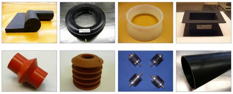 Silikongummiteile / AL Gummi- + Kunststofftechnik GmbH