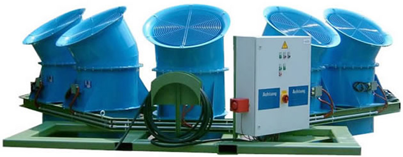 Ventiladores industriales / Rußwurm Ventilatoren GmbH