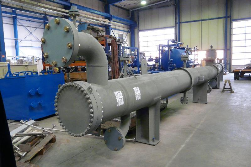 Предварительный нагреватель горючих газов
