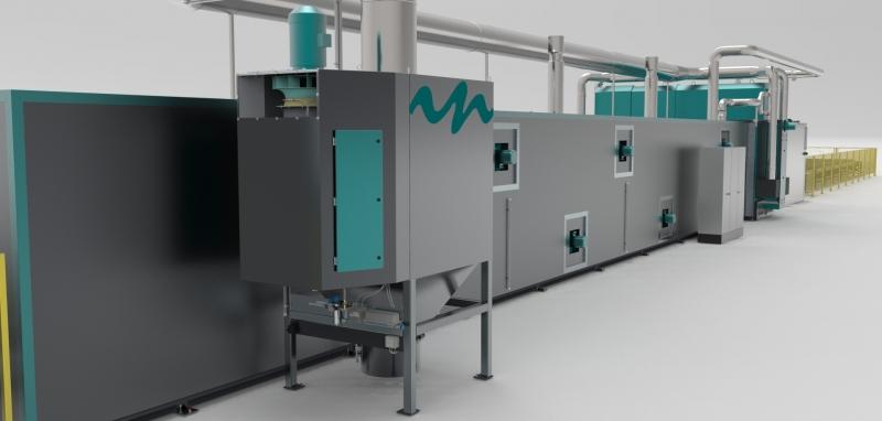 Desecador continuo / inTEC GmbH Lackiersysteme