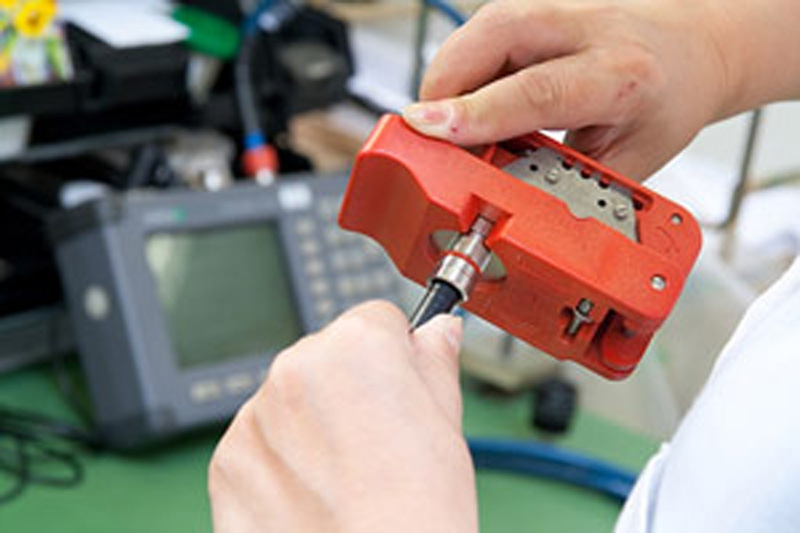 Confecção de cabos
