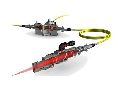 レーザー光線ガイドシステム