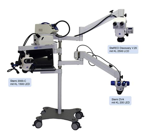Soğuk ışık kaynakları / Pulch + Lorenz Mikroskopie