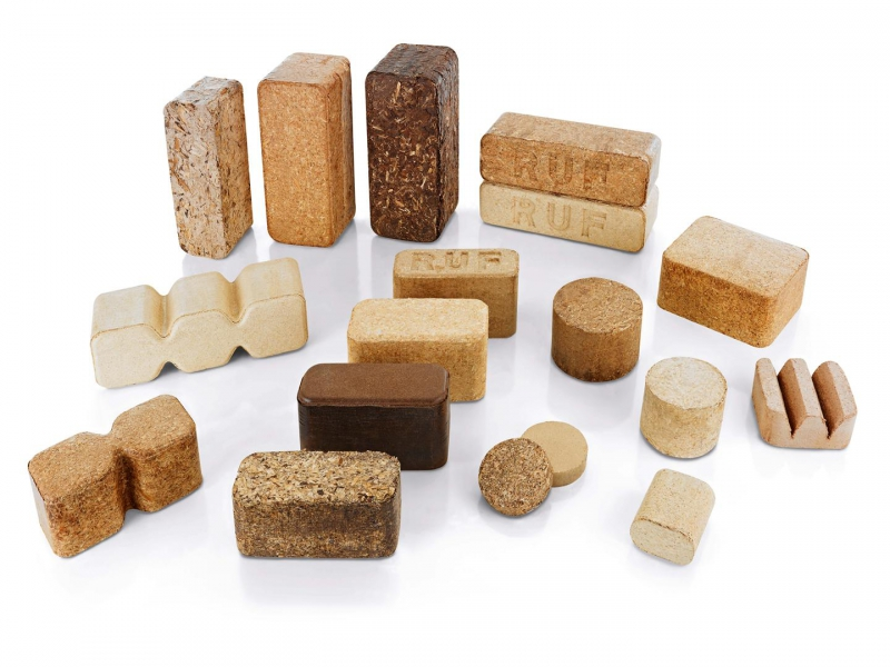Brykiet drewniany
