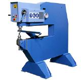 All-purpose machine for nibbling, punching, cut...