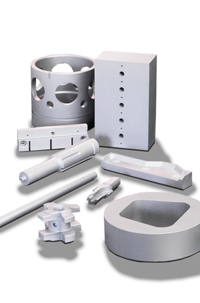 أجزاء الماكينات من المعدن الصلد