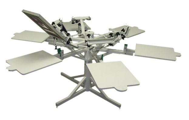 Stroje na potisk textilií