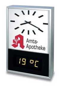 Reklam saatleri / Bernhard Zachariä GmbH