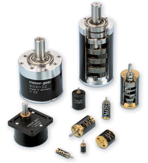 Standardgetriebe / maxon motor ag
