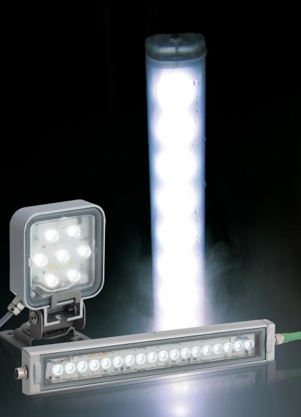 Iluminación de trabajos