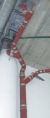 Conduites de tuyaux de drainage