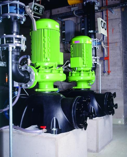 Cirkulační čerpadla vody pro koupaliště