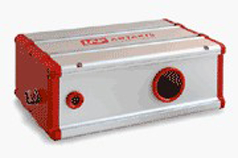 レーザー三角測量センサ