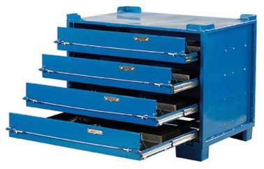 Estantes de suelos técnicos / Albert Daub GmbH & Co. KG