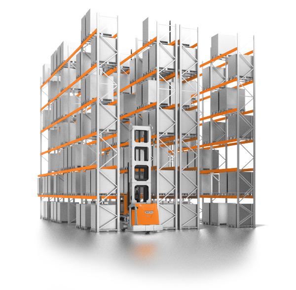 вертикальный складской стеллаж