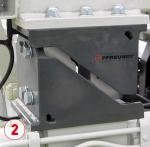 Système de pesée sur lève-conteneur