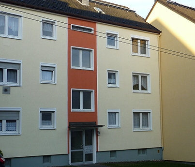 Fassadendämmung / Malerwerkstätten Orth e.K