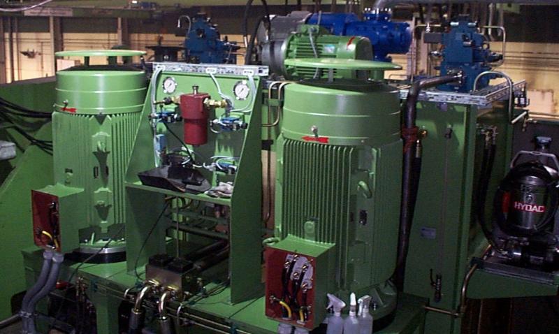 Zařízení na olejovou hydrauliku