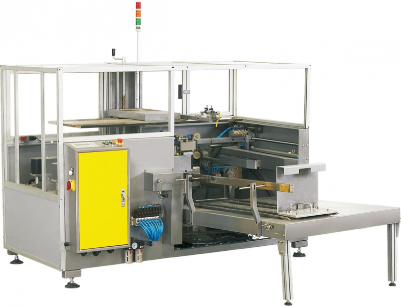 Maquina formadora de cajas de cartón
