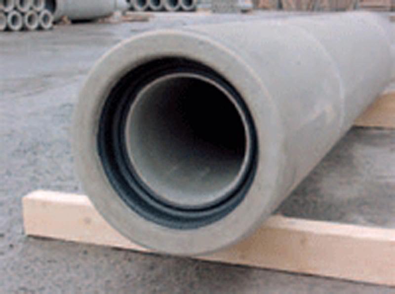 Tubos de hormigón y acero