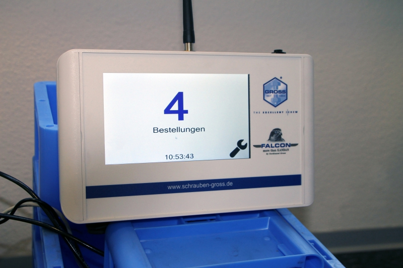 Pojemniki Kanban na bazie RFID