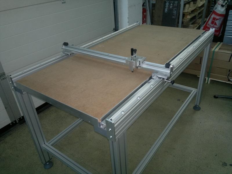 Mesas de corte de cristal