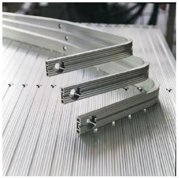 Barras cuadradas de aluminio