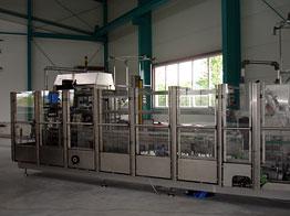 Horizontální kartonovací stroje