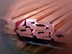 Productos semielaborados de cobre