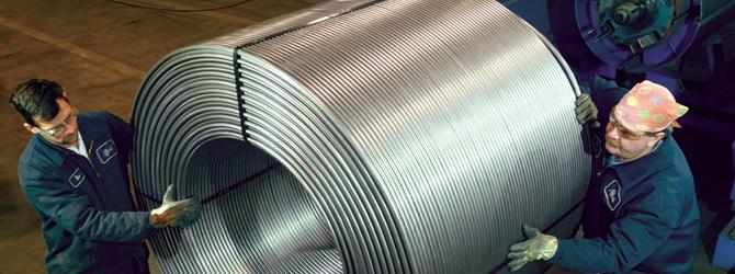 Granulato in alluminio