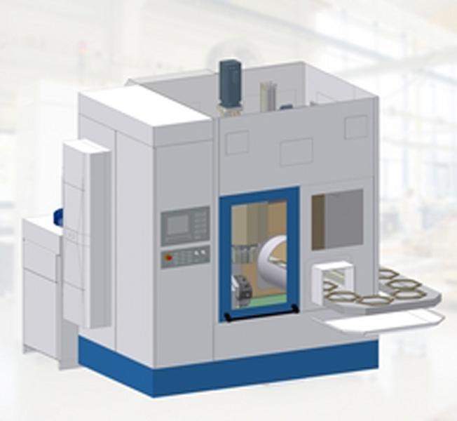 Máquina CNC rotativa automática