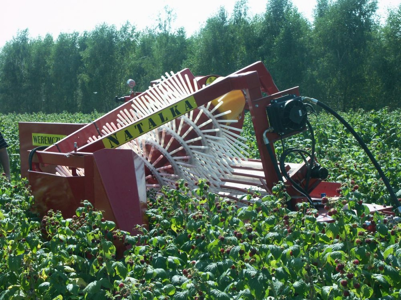 Fruit Harvesting Machines