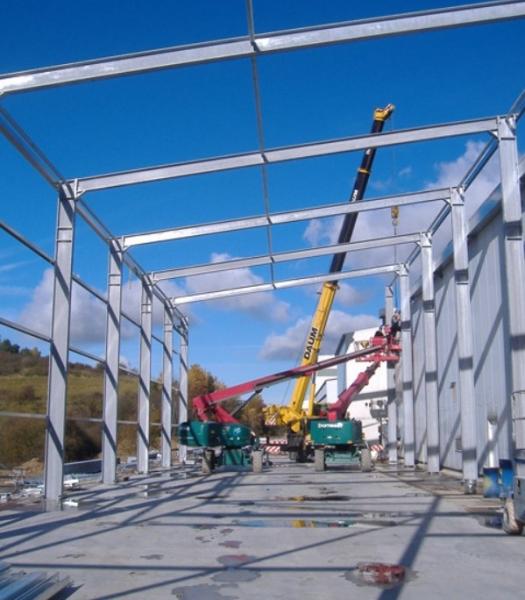 Estructura arquitectónica de acero