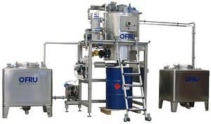 Dampfbeheizte Destillationsanlage für Flexodru...
