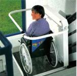 Rollstuhlaufzüge