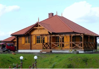 Wood houses / PPUH GEORGE