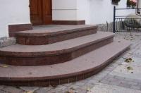 御影石階段