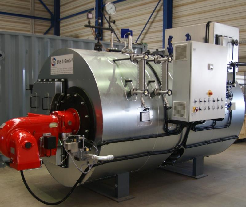 蒸気ボイラー燃焼装置