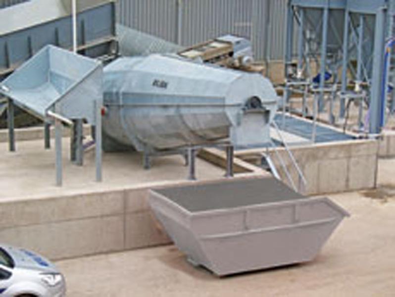 콘크리트 재활용 공장