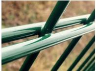 Panneaux de clôtures à double-fils