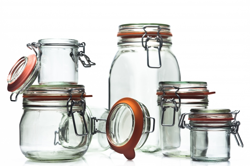 Wire Bail Jars