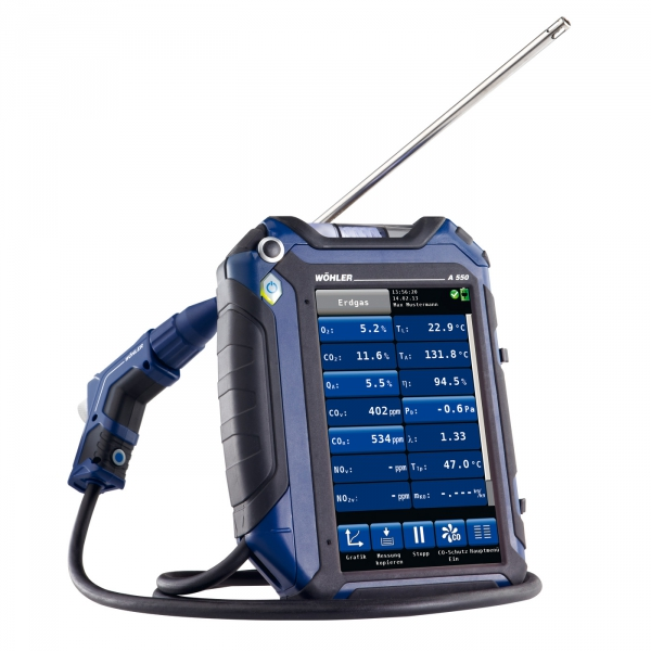 Exhaust Gas Measuring Instruments