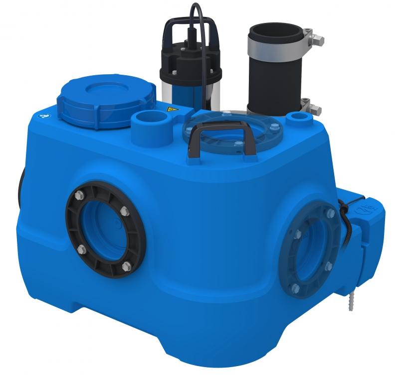 Installations élévatrices pour traitement des eaux usées