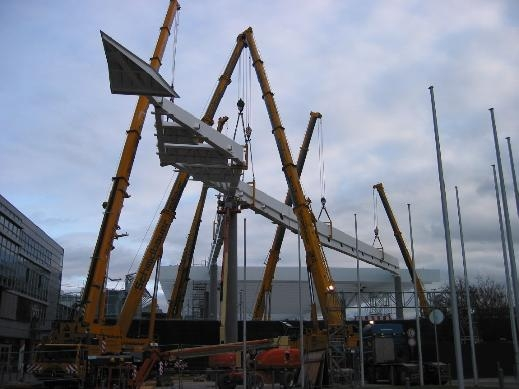 Архитектурная стальная конструкция