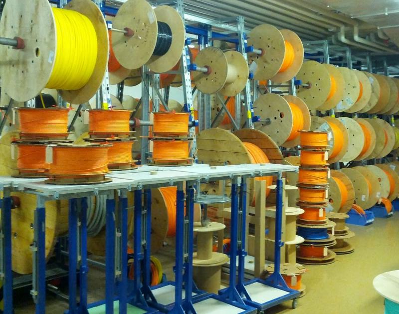 Impressão de cabos