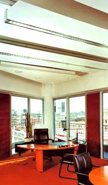 Plafonds métalliques