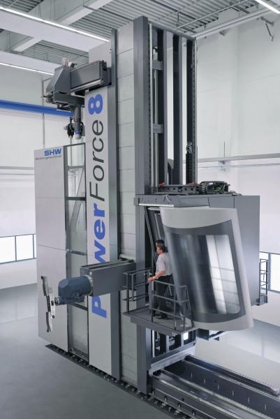 Machine tool manufacture / SHW Werkzeugmaschinen GmbH