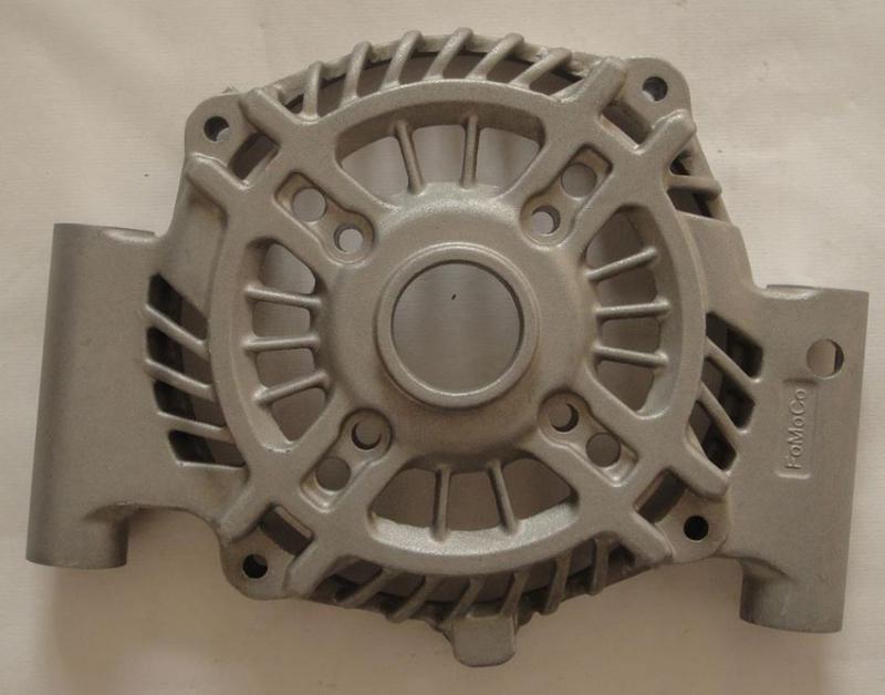 Pieza mecanizada de titanio