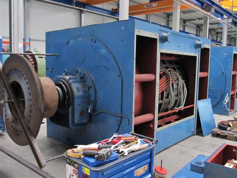 Manutenzione macchinari