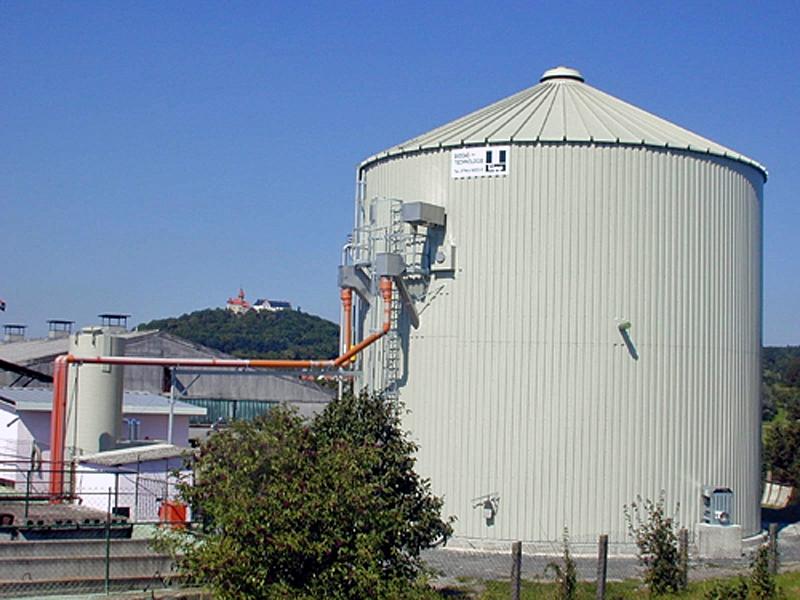 Zařízení na bioplyn
